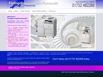Faringdon Copiers Plymouth