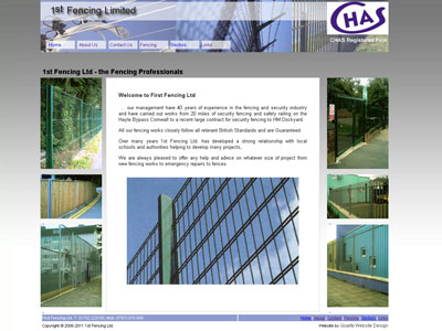 First Fencing Ltd.